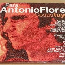 CD di Musica: PARA ANTONIO FLORES / COSAS TUYAS / VARIOS ARTISTAS / DIGIPACK-CD - HOMENAJE / 16 TEMAS / LUJO.. Lote 184457827
