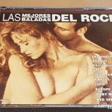 CDs de Música: LAS MEJORES BALADAS DEL ROCK / VARIOS ARTISTAS / DOBLE CD-BOX / 23 TEMAS / LUJO.. Lote 184460757