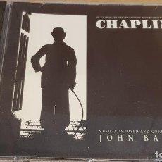 CDs de Música: B.S.O. / CHAPLIN / JOHN BARRY / CD - EPIC / 16 TEMAS / CALIDAD LUJO. Lote 184461325