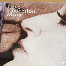 CDs de Música: LOVE COLLECTION MINA / DOBLE CD - EMI-ITALY / 28 TEMAS / BUENA CALIDAD.. Lote 184461836