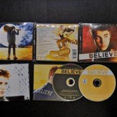 CDs de Música: JUSTIN BIEBER – BELIEVE CD DVD . Lote 184482281