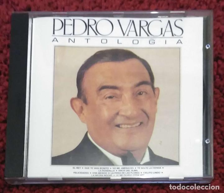 PEDRO VARGAS (ANTOLOGÍA) CD 1990 (Música - CD's Latina)