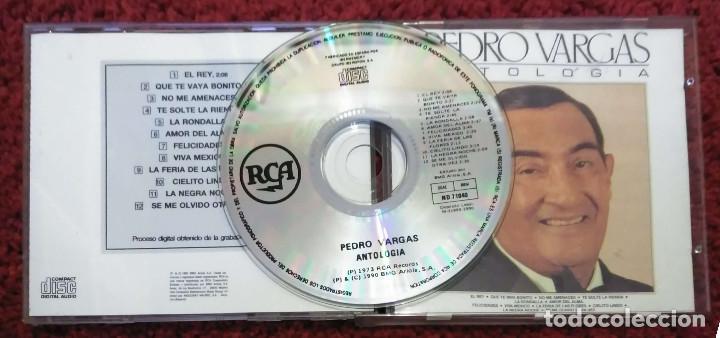 CDs de Música: PEDRO VARGAS (ANTOLOGÍA) CD 1990 - Foto 3 - 184510942