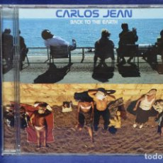 CDs de Música: CARLOS JEAN - BACK TO THE EARTH - CD. Lote 184512201