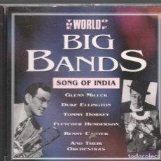 CDs de Música: BIG BANDS SONG OF INDIA / CD DE 1992 RF-3386 , BUEN ESTADO. Lote 184517166