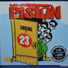 CDs de Música: LOS PISTON - LOCAL 23 - CD + DVD. Lote 184522025