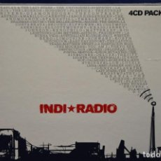 CDs de Música: VARIOUS - INDI * RADIO - 4 CD. Lote 184524586