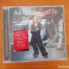 CDs de Música: CD AVRIL LAVIGNE - LET GO (V6). Lote 184533065