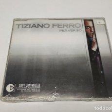 CDs de Música: JJ11- TIZIANO FERRO PERVERSO SINGLE CD NUEVO PRECINTADO LIQUIDACION!!!. Lote 184534237
