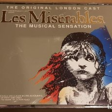 CDs de Música: B.S.O. / LES MISERABLES / THE MUSICAL SENSATION / DOBLE CD-BOX - FIRST NIGHT RECORDS / LUJO.. Lote 184536146
