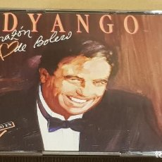 CDs de Música: DYANGO / CORAZÓN DE BOLERO / DOBLE CD-BOX - EMI / 20 TEMAS / CALIDAD LUJO.. Lote 184536371