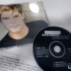 CDs de Música: CD-SINGLE ( PROMOCION) DE RICKY MARTIN . Lote 184538605