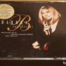CDs de Música: BARBRA STREISAND / THE CONCERT / MADISON SQUARE GARDEN / DOBLE CD-BOX / 28 TEMAS / LUJO.. Lote 184555233