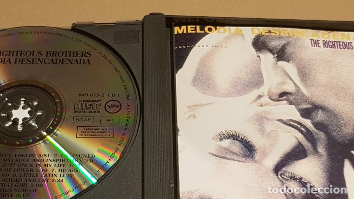 CDs de Música: THE RIGHTEOUS BROTHERS / MELODIA DESENCADENADA / DOBLE CD-BOX - VERVE / 25 TEMAS / LUJO - Foto 2 - 184555737
