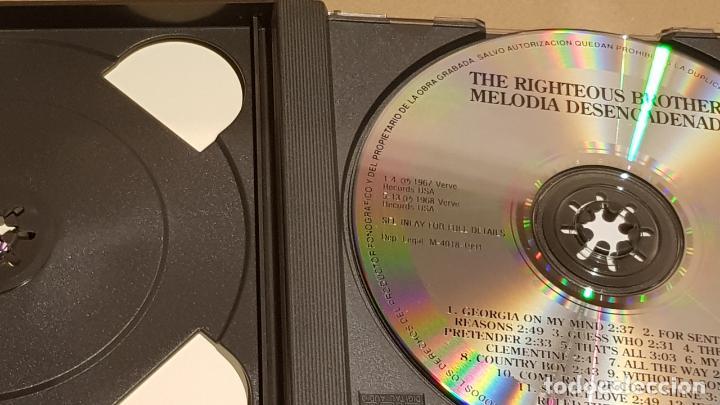 CDs de Música: THE RIGHTEOUS BROTHERS / MELODIA DESENCADENADA / DOBLE CD-BOX - VERVE / 25 TEMAS / LUJO - Foto 3 - 184555737