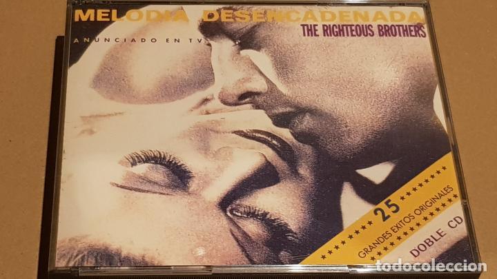 THE RIGHTEOUS BROTHERS / MELODIA DESENCADENADA / DOBLE CD-BOX - VERVE / 25 TEMAS / LUJO (Música - CD's Jazz, Blues, Soul y Gospel)