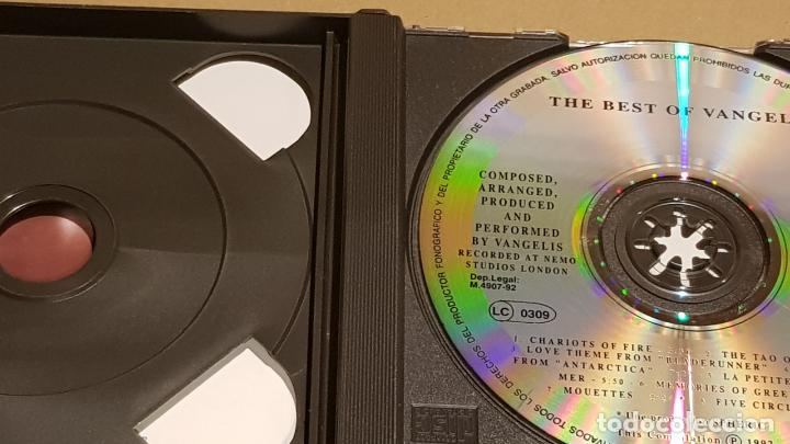 CDs de Música: THE BEST OF VANGELIS / DOBLE CD-BOX - POLYDOR / 16 TEMAS / CALIDAD LUJO. - Foto 3 - 184556235