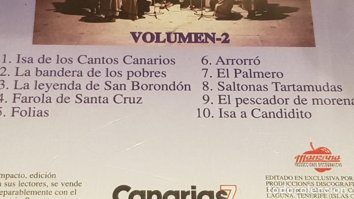 CDs de Música: LOS SABANDEÑOS / GRANDES ÉXITOS / VOLUMEN 2 / CD - MANZANA / 10 TEMAS / PRECINTADO. - Foto 3 - 184556631