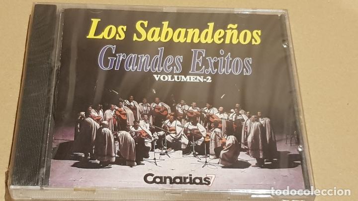 LOS SABANDEÑOS / GRANDES ÉXITOS / VOLUMEN 2 / CD - MANZANA / 10 TEMAS / PRECINTADO. (Música - CD's Melódica )