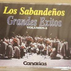 CDs de Música: LOS SABANDEÑOS / GRANDES ÉXITOS / VOLUMEN 2 / CD - MANZANA / 10 TEMAS / PRECINTADO.. Lote 184556631