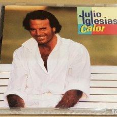 CDs de Música: JULIO IGLESIAS / CALOR / CD - CBS-SONY / 10 TEMAS / CALIDAD LUJO.. Lote 184562520