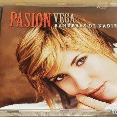 CDs de Música: PASIÓN VEGA / BANDERAS DE NADIE / CD - RCA / 10 TEMAS / CALIDAD LUJO.. Lote 184562793