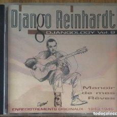 CDs de Música: DJANGO REINHARDT DJANGOLOGY VOL 9 CD BUENA CONSERVACION. Lote 184567226