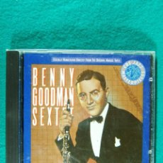 CDs de Música: BENNY GOODMAN SEXTET-PRINTED IN HOLLAND-1987.. Lote 184595000