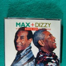 CDs de Música: MAX + DIZZY- ROACH PARIS 1989 GILLESPIE-MADE IN WEST GERMANY-DOS CDS-1990.. Lote 184595877