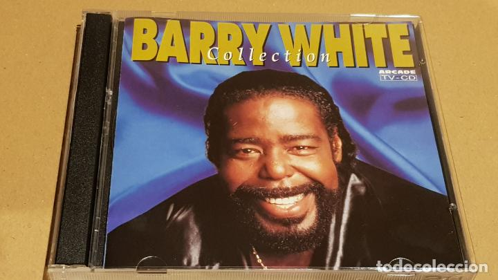 BARRY WHITE COLLECTION / DOBLE CD - ARCADE / 28 TEMAS / CALIDAD LUJO. (Música - CD's Jazz, Blues, Soul y Gospel)