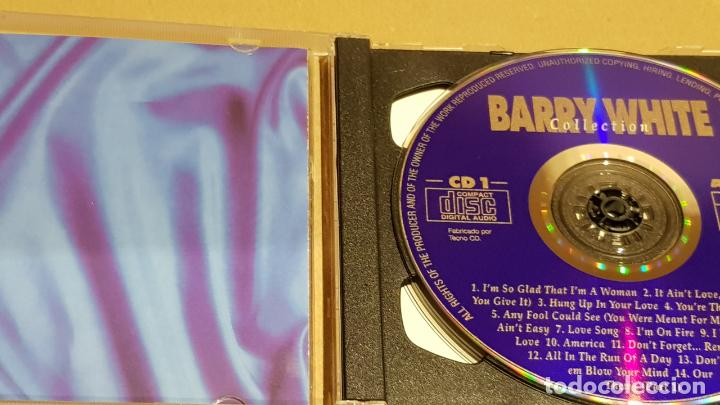 CDs de Música: BARRY WHITE COLLECTION / DOBLE CD - ARCADE / 28 TEMAS / CALIDAD LUJO. - Foto 2 - 184609611