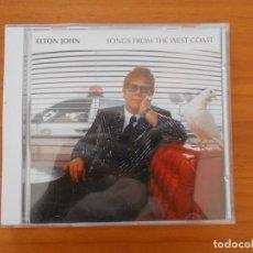 CDs de Música: CD ELTON JOHN - SONGS FROM THE WEST COAST (7U). Lote 184621458