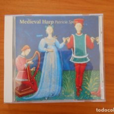 CDs de Música: CD MEDIEVAL HARP - PATRICIA SPERO (7U). Lote 184621966