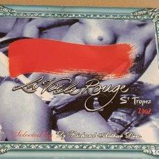 CDs de Música: LA VOILE ROUGE / ST. TROPEZ 2002 / DIGIPACK-DOBLE CD / 32 TEMAS / DE LUJO. / DIFÍCIL.. Lote 184647280