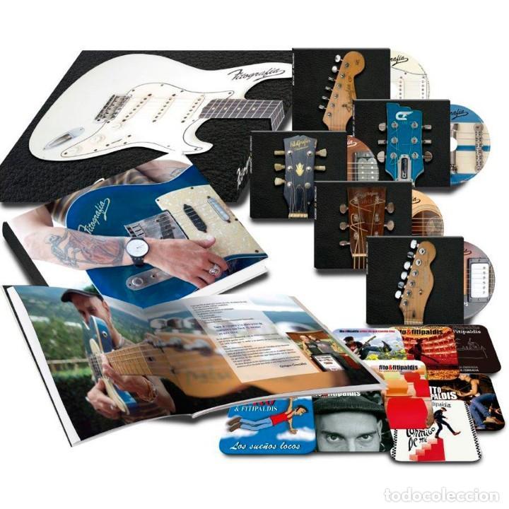 CDs de Música: Fito & Fitipaldis Fitografía CAJA ESPECIAL (3 CDS + 2 DVD + Libro) nuevo y precintado - Foto 4 - 184689235