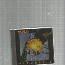CDs de Música: DEF LEPPARD PYROMANIA. Lote 184693647