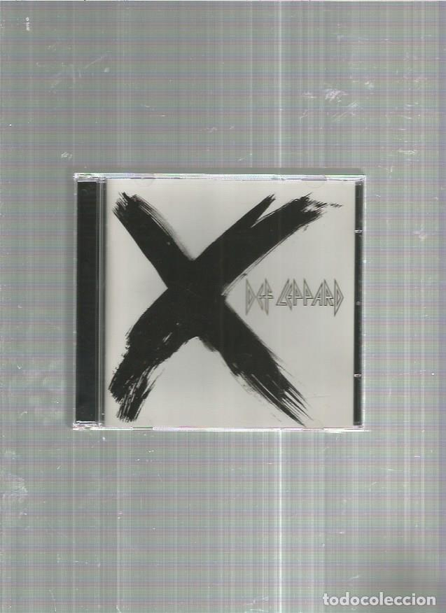 DEF LEPPARD X (Música - CD's Heavy Metal)