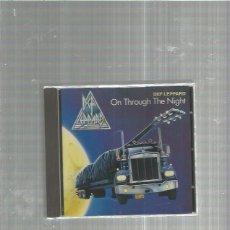 CDs de Música: DEF LEPPARD ON THROUGH. Lote 184694871