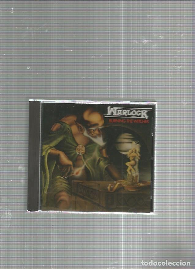 WARLOCK BURNING (Música - CD's Heavy Metal)