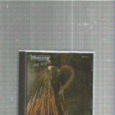 CDs de Música: WARLOCK TRUE AS STEEL. Lote 184696445