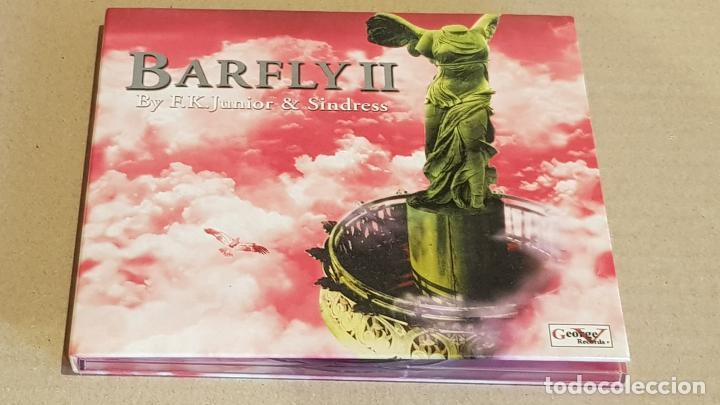 BARFLY II / BY F.K. JUNIOR & SINDRESS / DIGIPACK-CD / 15 TEMAS / BUENA CALIDAD. (Música - CD's Techno)