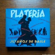 CDs de Música: ORQUESTRA PLATERIA - 20 AÑOS DE BAILE, PDI, 1995. SPAIN.. Lote 184704661