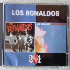 CDs de Música: LOS RONALDOS.LOS RONALDOS + SACA LA LENGUA...2 EN 1..RARA EDICION. Lote 184707650
