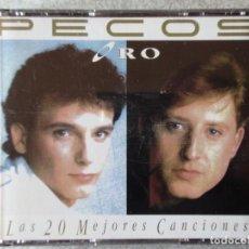 CDs de Música: PECOS ORO.LAS 20 MEJORES CANCIONES..DOBLE CD...DIFICIL. Lote 184708338