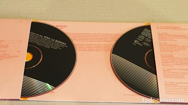 CDs de Música: VIVA LA BODEGA / COLLECTION LATIN MUSIC - SAINT TROPEZ / DIGIPACK-DOBLE CD / 27 TEMAS / LUJO. - Foto 2 - 184708348