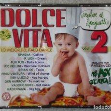 CD de Música: DOLCE VITA VOL 2...3 CD´S...DIFICIL. Lote 184708418