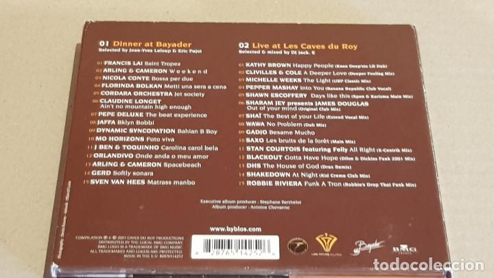 CDs de Música: HOTEL BYBLOS - SAINT TROPEZ / SINCE 1967 /DIGIPACK-DOBLE CD / 30 TEMAS / DE LUJO. - Foto 5 - 184708636