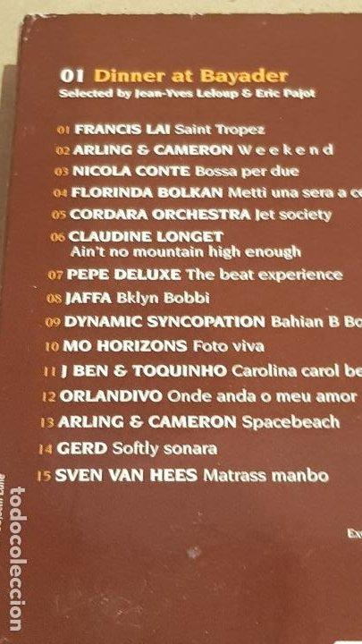 CDs de Música: HOTEL BYBLOS - SAINT TROPEZ / SINCE 1967 /DIGIPACK-DOBLE CD / 30 TEMAS / DE LUJO. - Foto 6 - 184708636