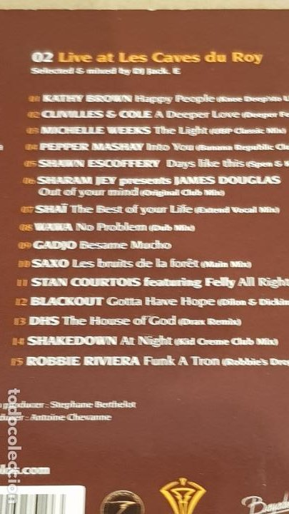 CDs de Música: HOTEL BYBLOS - SAINT TROPEZ / SINCE 1967 /DIGIPACK-DOBLE CD / 30 TEMAS / DE LUJO. - Foto 7 - 184708636