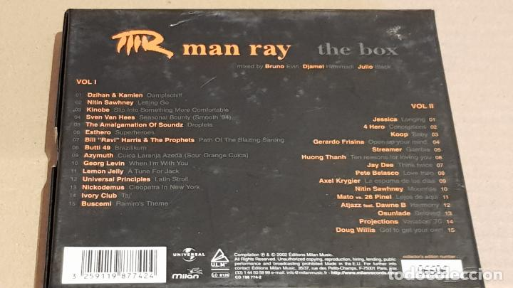 CDs de Música: MAN RAY / THE BOX / CAJA-BOX 2 CDS / 30 TEMAS / CALIDAD LUJO. - Foto 3 - 184708753